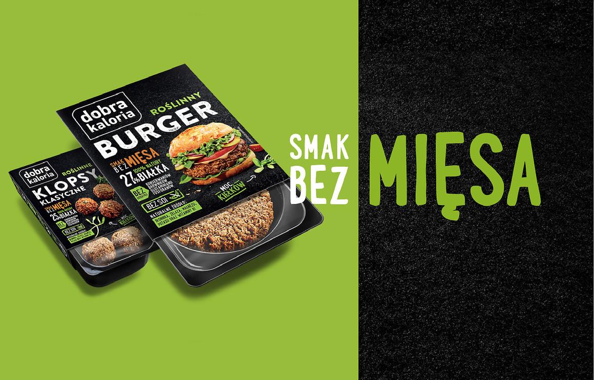 Burger i klops od Dobrej kalorii - specjalnie dla wegan..